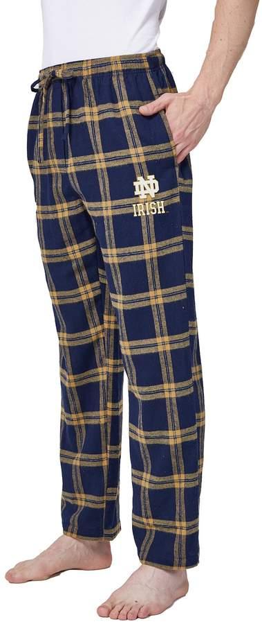 NCAA Men's Notre Dame Fighting Irish Hllstone Flannel Pants