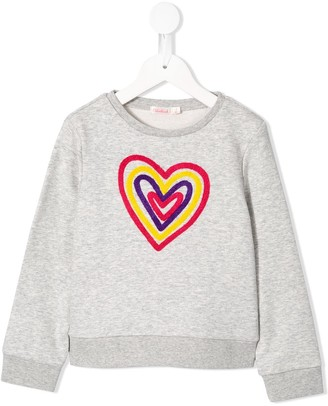 Billieblush Heart Detail Sweatshirt