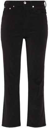 Rag & Bone Hana Cotton-blend Velvet Kick-flare Pants