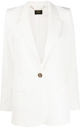 Liu Jo tailored longline blazer