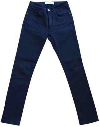 John Galliano Black Cotton Jeans