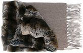 N.Peal variated rabbit fur scarf - women - Rabbit Fur/Cashmere - One Size