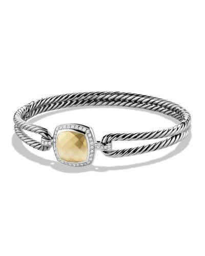 David Yurman Albion Bracelet with Gold and Diamonds