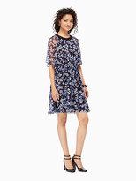 Kate Spade Hydrangea chiffon dress