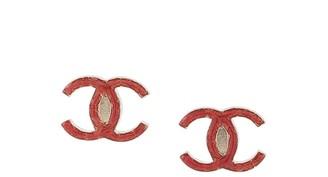 Chanel Pre Owned 2010 CC logo earrings