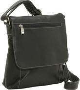 Le Donne Leather Vertical Flap Over Bag
