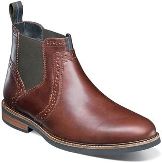 Nunn Bush Otis Mens Plain Toe Dress Chelsea Boots