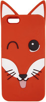 MAISON KITSUNÉ Orange 3d Fox Head Iphone 6 Case