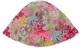 Bonpoint Girls' Floral Print Drawstring Sun Hat
