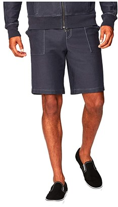 Threads 4 Thought Saul Knit Twill Pocket Shorts (Carbon) Men's Shorts