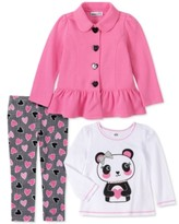 Young Hearts Little Girls Peace Tie Dye 2 Piece Legging Set