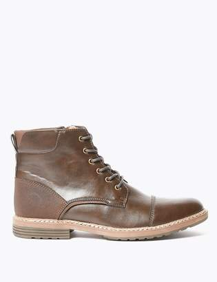 M&S CollectionMarks and Spencer Lace-up Casual Boots
