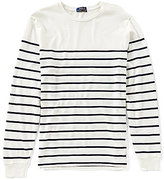 Polo Ralph Lauren Striped Cotton Jersey Long-Sleeve Pullover