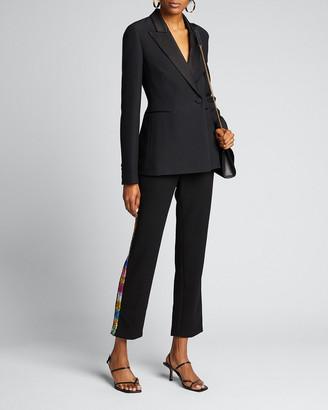 Libertine Electric Dream Sequin Tuxedo-Striped Pants
