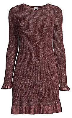 M Missoni Women's Knit Lurex Mini Dress