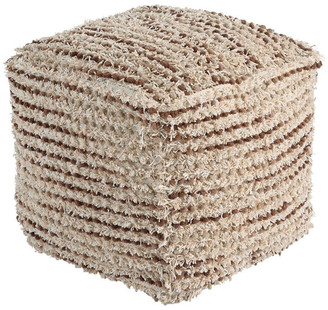 Ashley Furniture Industries Jorge Pouf, Brown/Cream