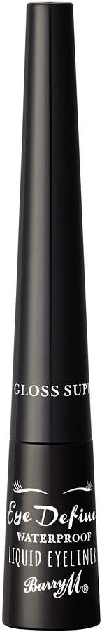 Barry M Cosmetics Eye Define Liquid Eyeline, Super Gloss Black by