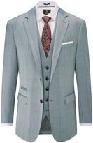 Skopes Dunstall Wool Blend Check Suit Jacket
