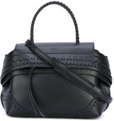 Tod's woven detail tote - women - Leather - One Size