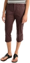 Specially made Stretch Cotton Capris (For Women)