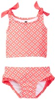 Tea Collection Ditsy Floral Printed Tankini 2-Piece Set (Baby Girls)