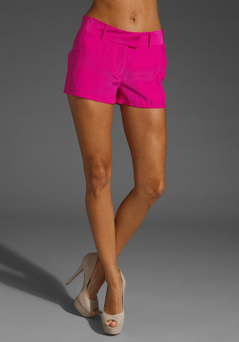 Amanda Uprichard Silk Brooklyn Short