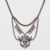 BaubleBar SUGARFIX by Crystal Warrior Bib Necklace - Clear
