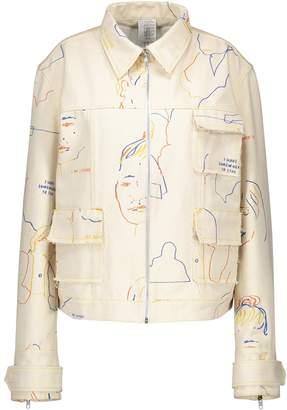 Bethany Williams Printed denim jacket