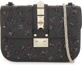 Valentino Small leather flower embellished cross-body bag