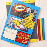 coconutgrass Personalised Why Daddy Is My Hero Activity Book
