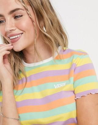 Vans Rainbow t-shirt in pastel