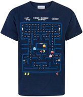 Pac-Man Pacman Classic Action Scene Boy's T-Shirt