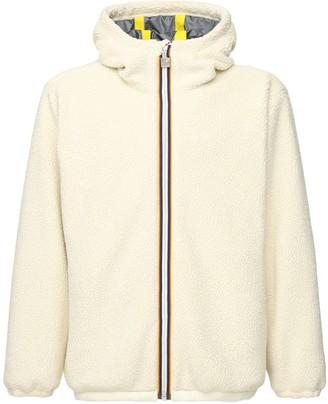 K Way R&D Claude Faux Shearling Hooded Jacket