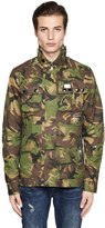 G Star Ospak Camo Cotton Blend Field Jacket