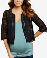 Jessica Simpson Maternity Draped Cardigan