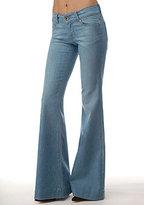 Love Story Low Rise Bell Bottom Jean in Oniel Wash