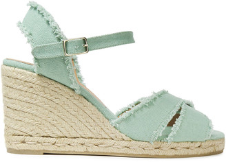 Castaner Bromelia Cotton-canvas Espadrille Wedge Sandals