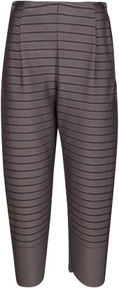 Issey Miyake Striped Tapered Pants
