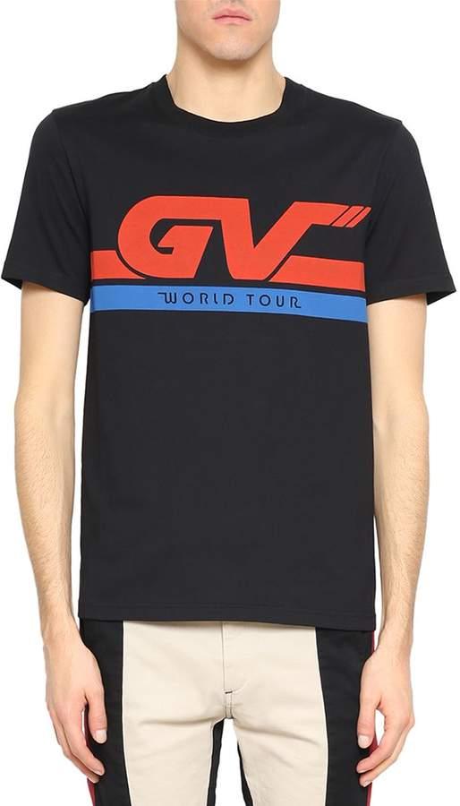 Givenchy Gv World Tour Cotton T-shirt