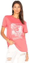 Obey Breezy Classic Tee in Coral
