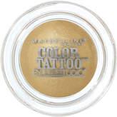Maybelline Eye Studio Color Tattoo 24hr Cream Gel Eye Shadow #45 Bold Gold 4g