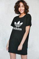 adidas Trefoil Oversized T-Shirt Mini Dress
