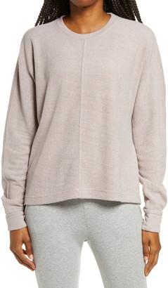 Zella Cozy Fleece High/Low Sweatshirt
