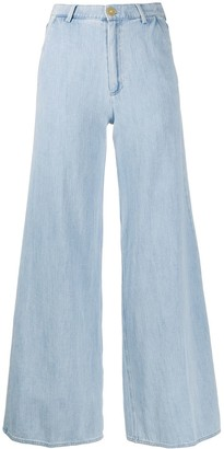 Forte Forte High-Waisted Flared Jeans