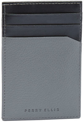 Perry Ellis Front Pocket Magnetic Clip Wallet
