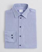 Armani Collezioni Triangle Micro-Pattern Dress Shirt - Classic Fit