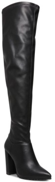 Madden-Girl Signaal Over-The-Knee Lug Sole Dress Boots