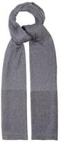 Missoni Metallic-stripe Fine-knit Scarf - Womens - Silver