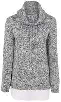 George 2-in-1 Cowl Neck Jumper