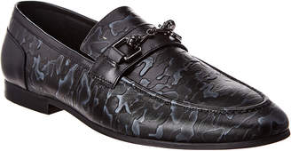 Robert Graham Curly Leather Loafer